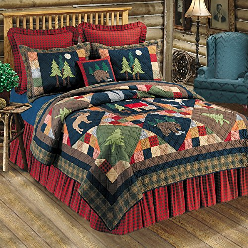 - C&F Home Timberline Collection Twin Quilt, 64 by 86-Inch