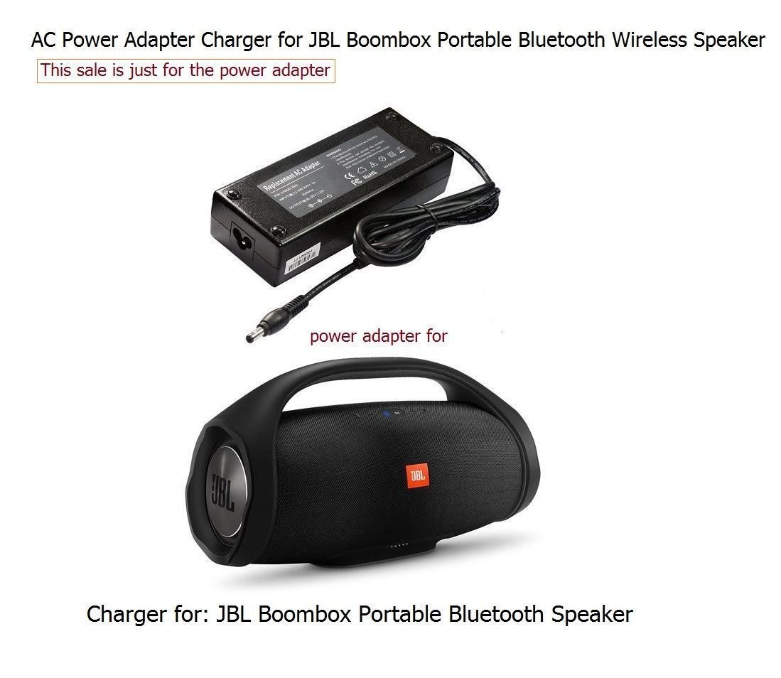 Charger For Jbl Boombox Portable Wireless Bluetooth Speaker Mini 1 Home Audio Theater