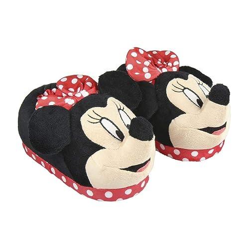 Cerdá 3D Minnie, Zapatillas de Estar por casa para Niñas: Amazon.es: Zapatos y complementos