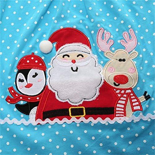 pantalon costume pour la d/écoration et le chauffage les enfants /à manches longues T-shirt homiki Mignon pyjama dhiver du P/ère No/ël rennes mod/èle de bonhomme de neige