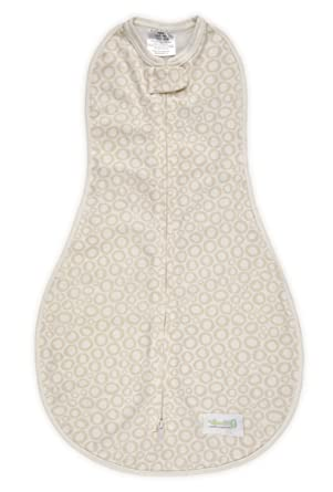 Saco de dormir de Puck Woombie Organic Marrón Claro O,s - para bebés grandes