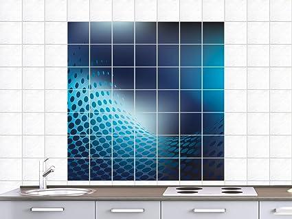 Piastrelle sticker adesivo da parete piastrellata per bagno punti