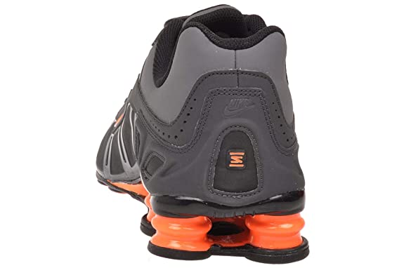 outlet store e1a6a ff232 wholesale amazon nike shox turbo 3.2 sl mens running shoes dark grey total orange  anthracite black