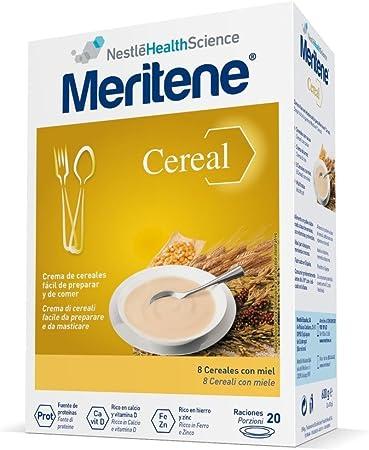 MERITENE 8 cereales con miel