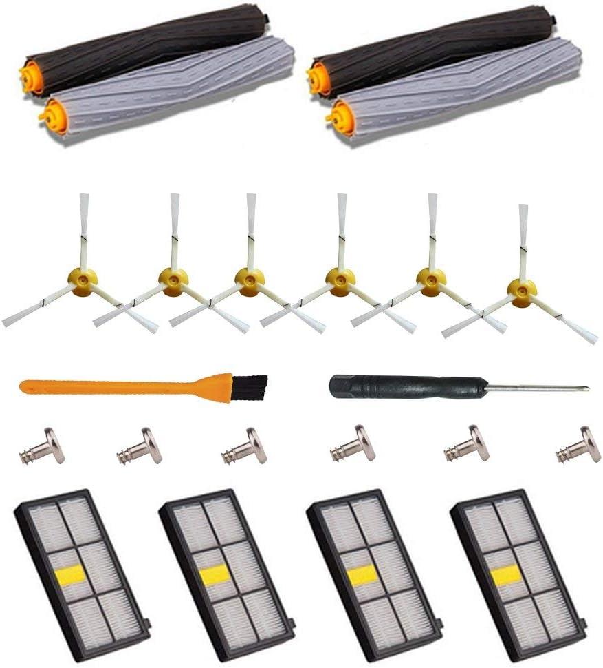 22pcs Kit de Recambios para Roomba 866 980 800 865 871 870 900 - Filtros y Cepillos Kit de Repuestos de Accesorios para iRobot Roomba 800/900 Serie Aspirador: Amazon.es: Hogar