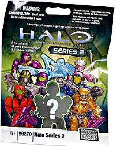 - Halo Wars Mega Bloks Series 2 Mystery Mini Figure Pack Random