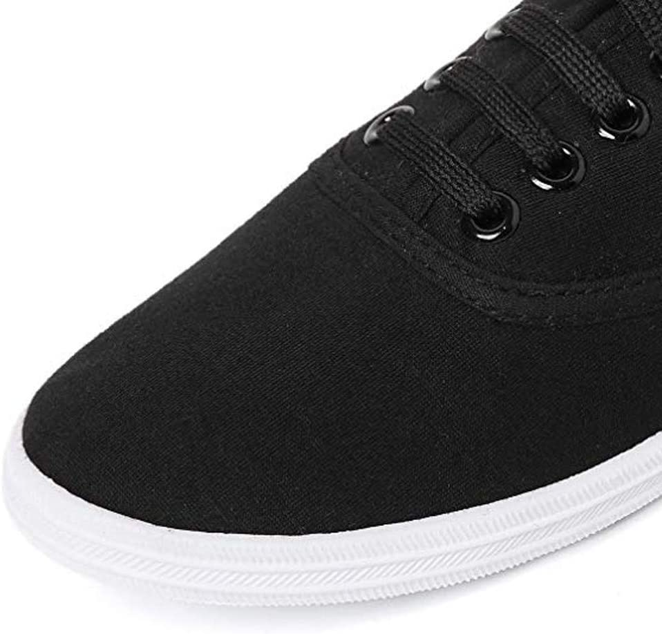 Midress Womens Shoe Slip on Ladies Fashion Casual Versatile Comfortable Canvas Flat Casual Shoes Low Top Sneaker