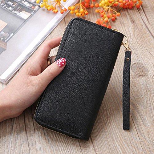 Mode Mädchen Damen Pinsel Geldbörse lange Münze Geldbörse Handtasche