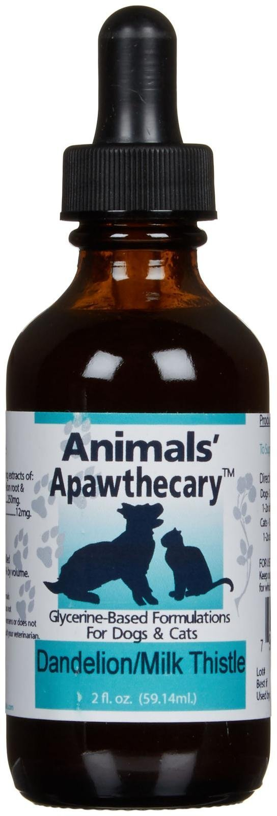 Animal Essentials Liver Defense Dandelion/Milk Thistle 2 fl. oz'' (Packaging May Vary) by Animal Essentials