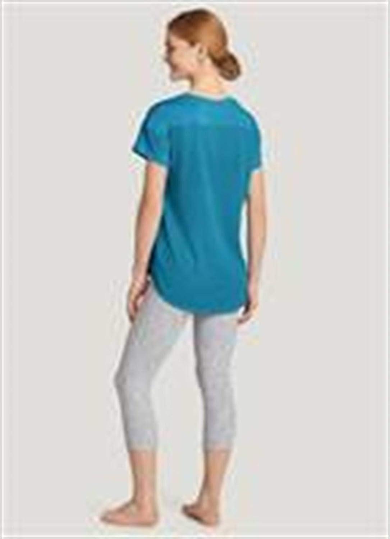 Jockey Womens Activewear Reversible Crop Legging