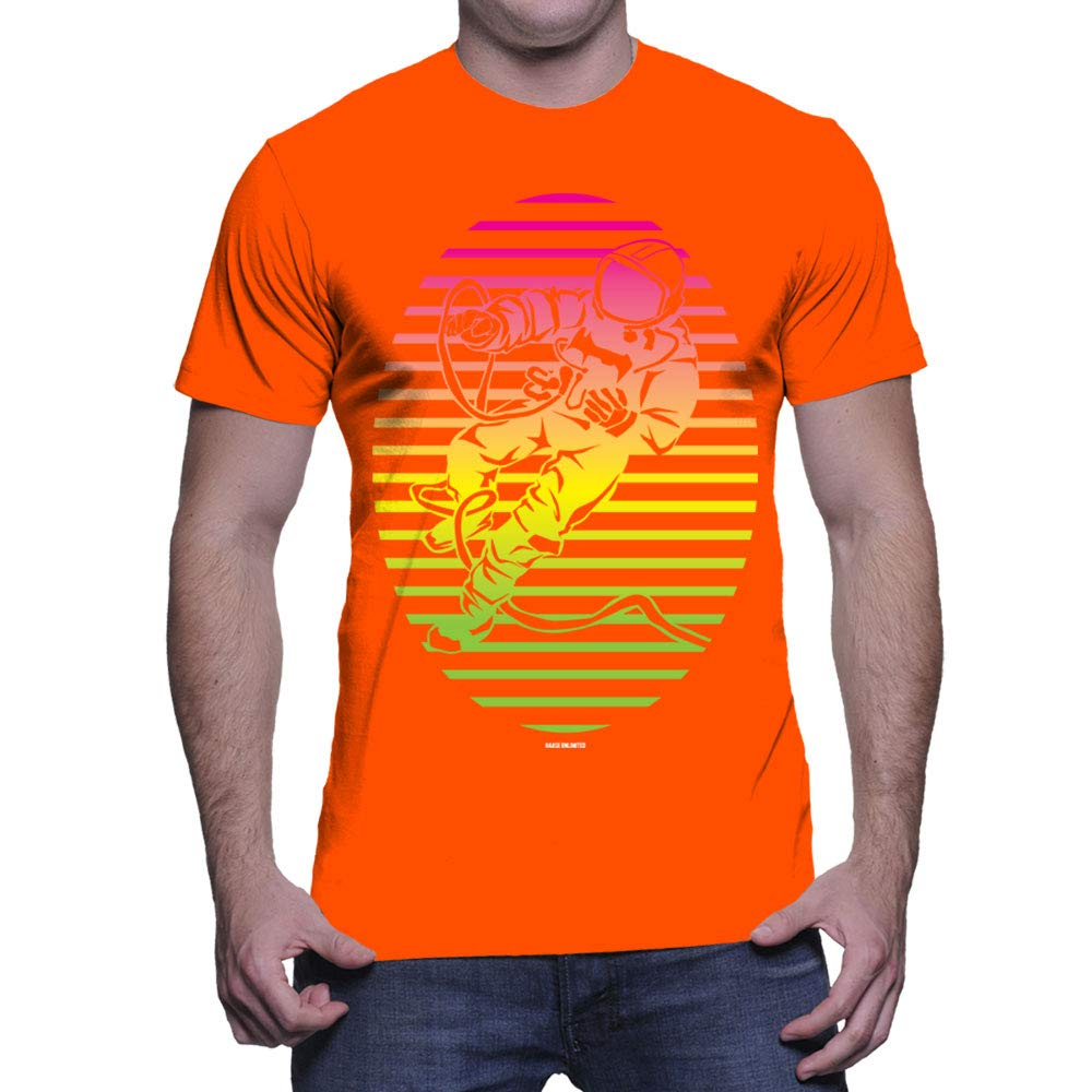 Neon Astronaut T Shirt 4683