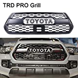 #7: Vakabva Toyota Tacoma TRD PRO Grill Grille Fits 2016 2017 2018 PT228-35170 Front Bumper Hood Grille Grill