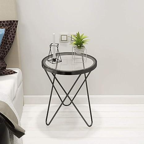 Mesa de centro, mesa de noche con mesita auxiliar y cesta de ...