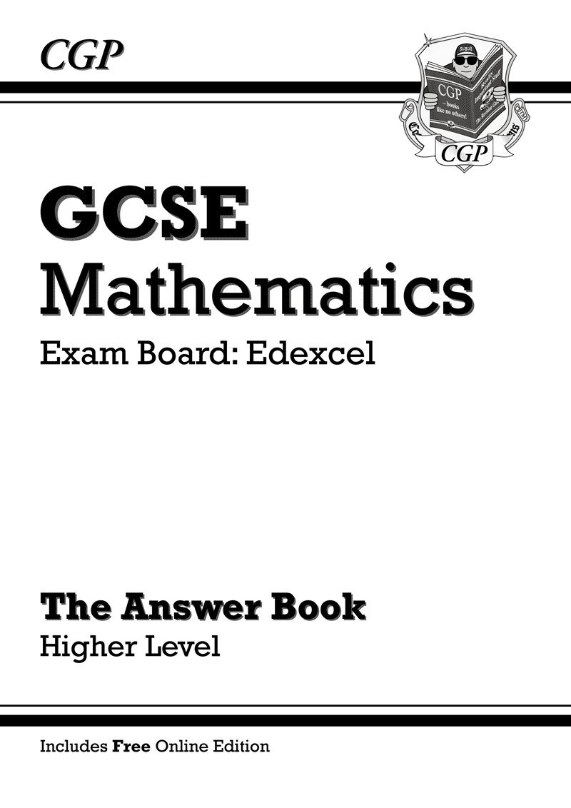 GCSE Maths Edexcel Answers for Workbook with online edition - Higher ...