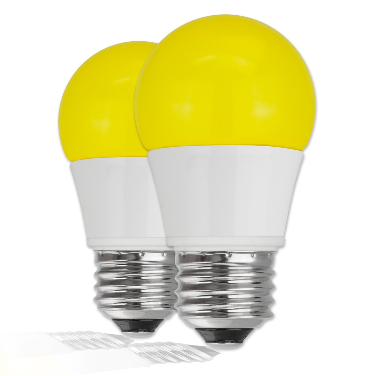 TCP 40 Watt Equivalent, Single-Pack LED Yellow Bug Light Bulbs, Non-Dimmable, RLA155Y: Amazon.in: Home & Kitchen