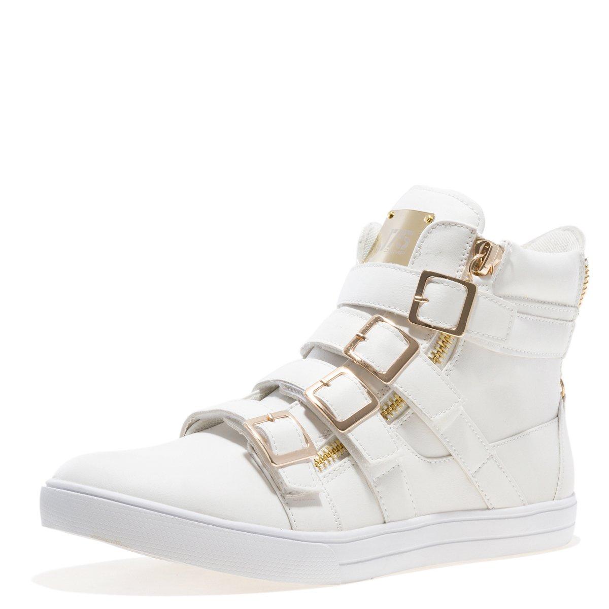 White JUMP J75 Men's Zealot High-Top Fashion Sneaker