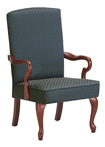 Comfort Pointe Derby Green Gooseneck Arm Chair