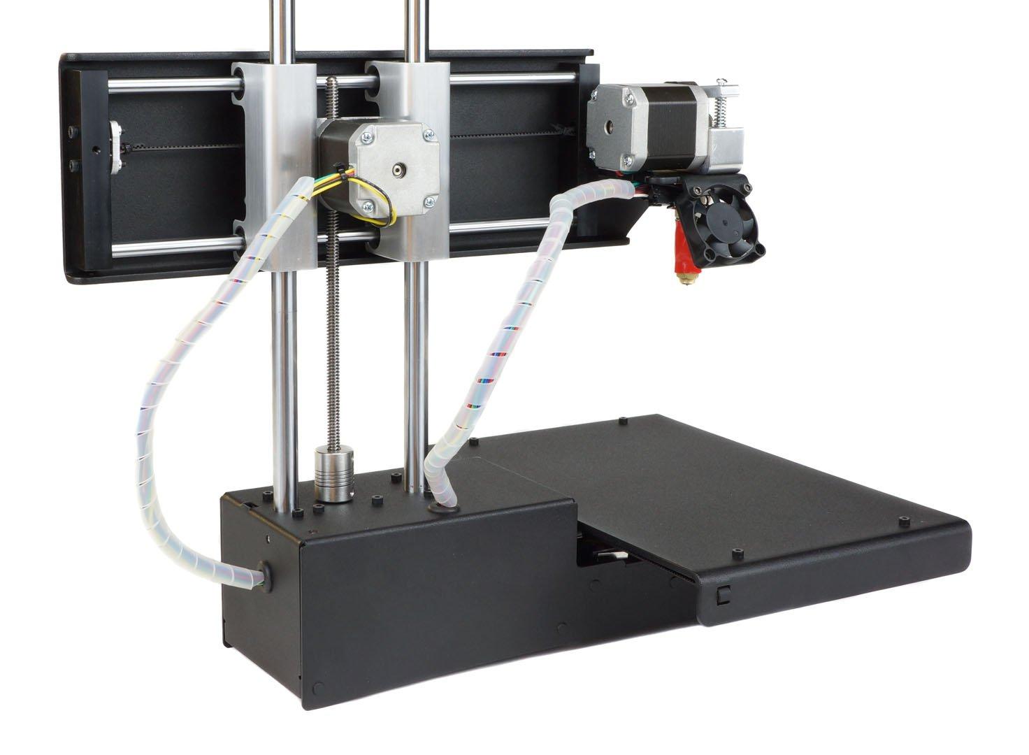 printrbot assembled metal simple 3d printer black pla filament