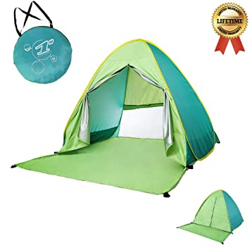 Baby Beach Tent?Portable 2-3 persons Outdoor Automatic Pop Up Tent Instant Quick  sc 1 st  Amazon.com & Amazon.com : Baby Beach Tent?Portable 2-3 persons Outdoor ...