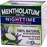 Mentholatum Nighttime Vaporizing Rub with
