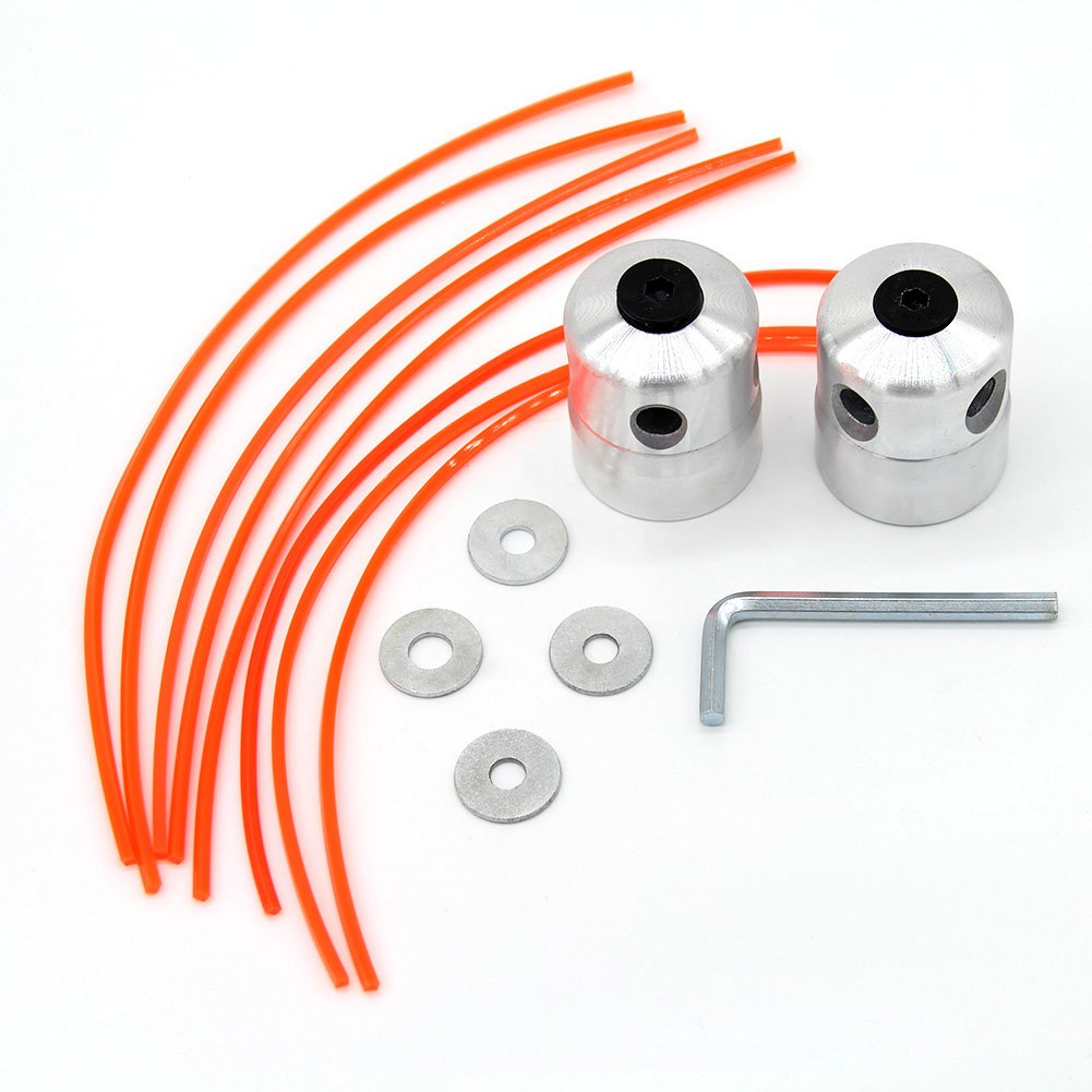 SWNKDG 2st Universal Aluminio Cortabordes de Nailon Hilos ...