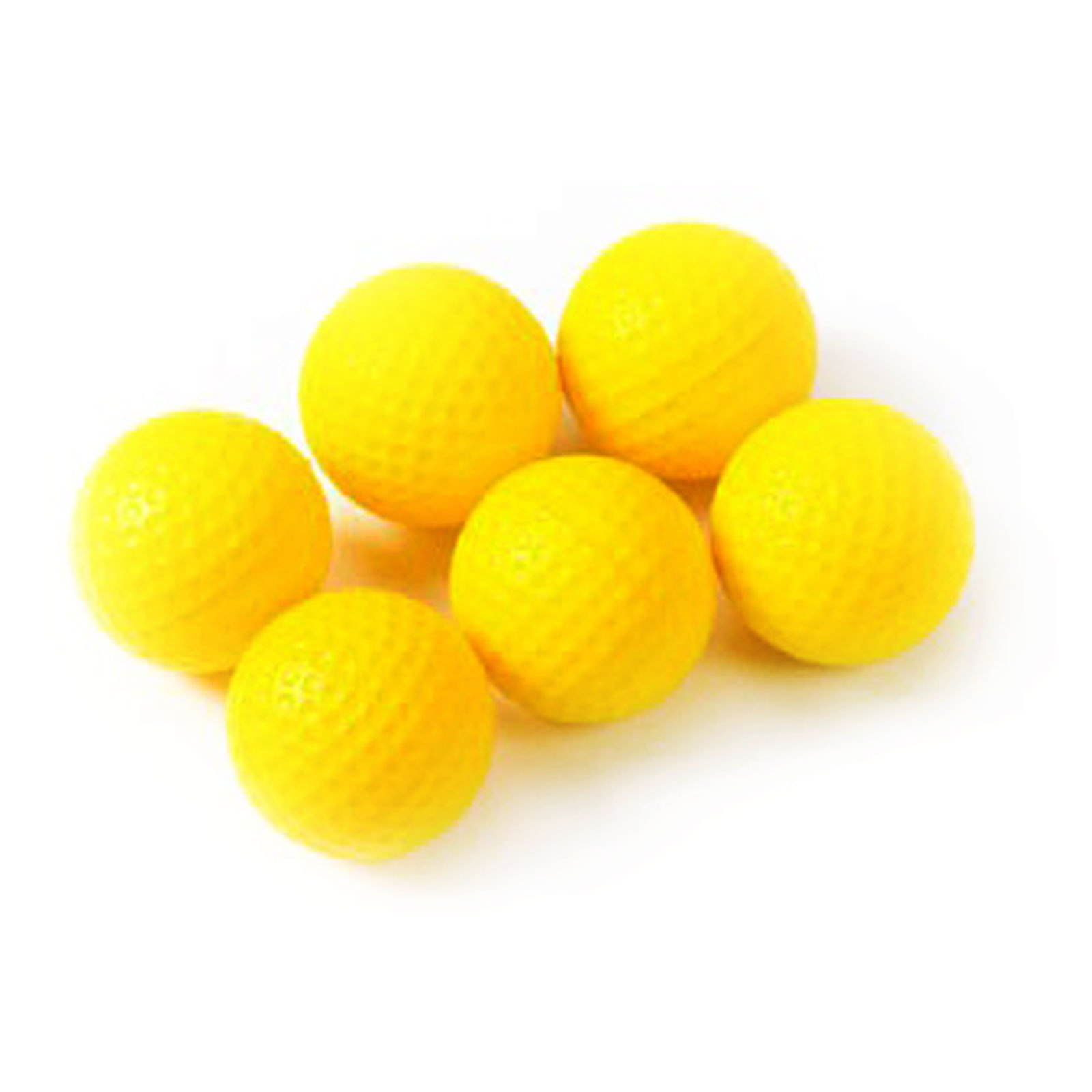 Tour Gear PU Foam Practice Golf Balls (6-Pack) by Tour Gear (Image #1)