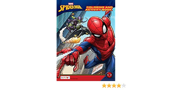 Spider-Man 128-Page Coloring and Activity Book
