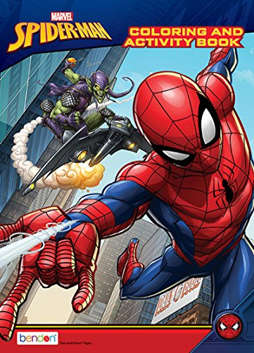 Spider-Man 128-Page Coloring and Activity Book]()