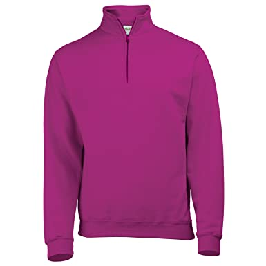 AWDis Mens Sophomore ¼ Zip Sweatshirt