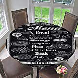 kitchen 67 menu PINAFORE HOME Premium Tablecloth Chalkboard menu Everyday Use 63
