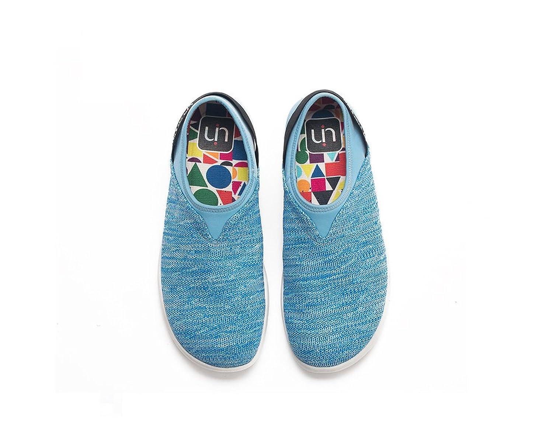 UIN Chaussure de Loafer colorée de canevas Vela des femmes Jaune (39) bL1wQ