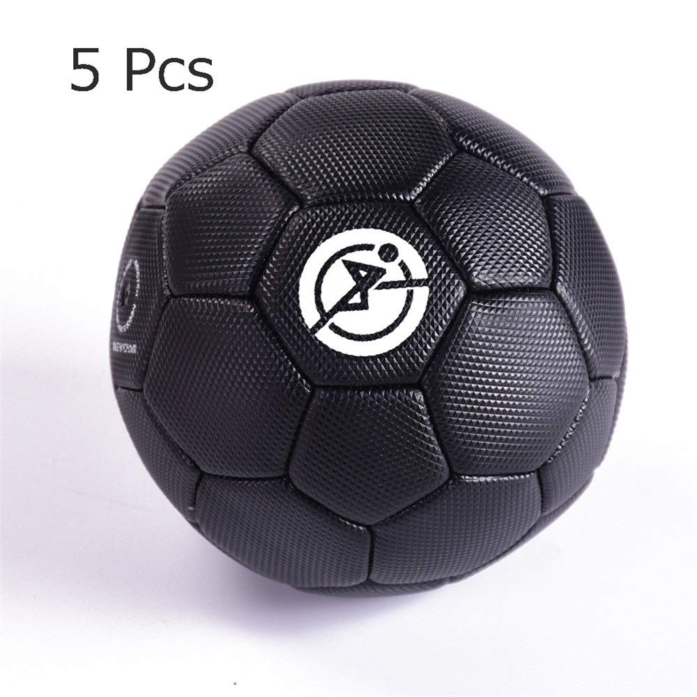 Lightweight Football PVC Children Primary School Outdoor Sport Practice Football Toddler Soccer Toys Official Size 2 Football Toy with Rope for 3-6 Years Old School Indoor Outdoor Park by Sviper