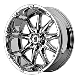XD Series by KMC Wheels XD779 Badlands Chrome Wheel (18x9''/8x170mm, +18mm offset)