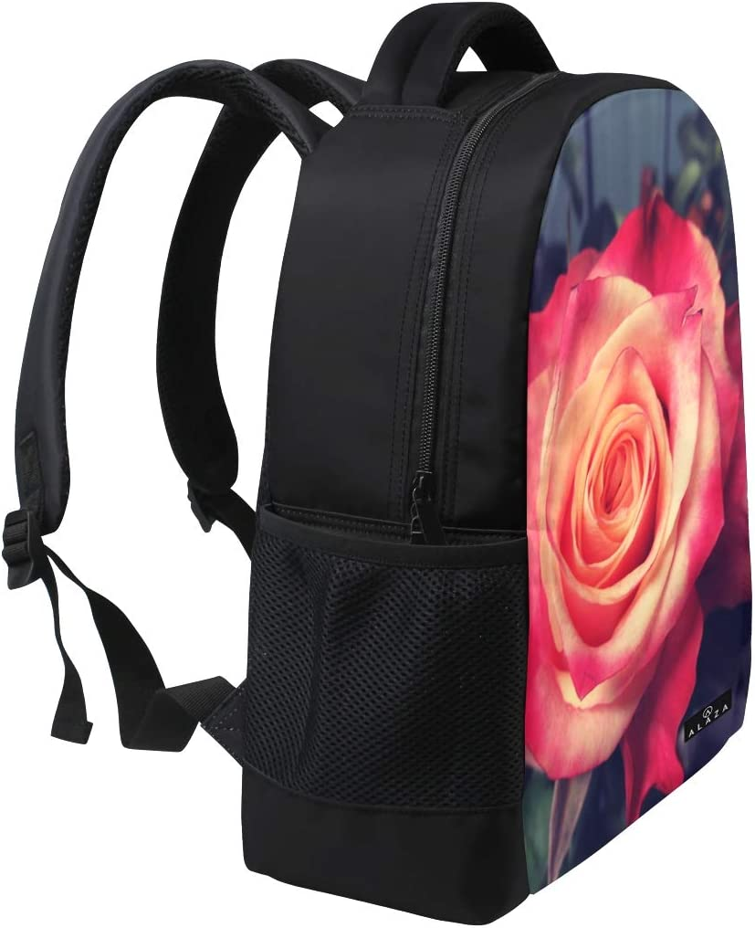 Backpack Field Pack Travel Bag Laptop Bag Fashion Bright Flowers