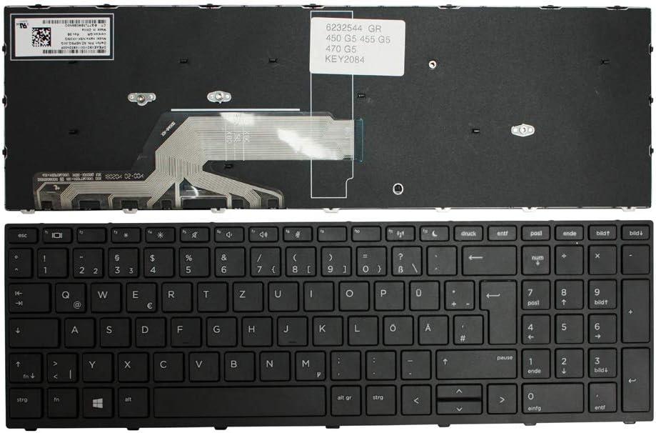 Keyboards4Laptops German Layout Black Frame Black Windows 8 Laptop Keyboard for HP Pavilion 15-N211TU HP Pavilion 15-N212TX HP Pavilion 15-N211TX HP Pavilion 15-N212TU HP Pavilion 15-n212AU