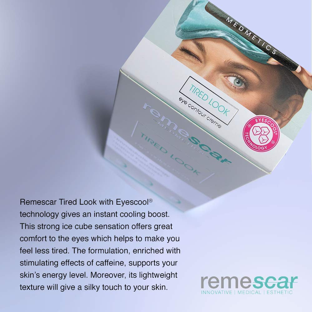 Remescar Clinically Proven Anti-Fatigue Tired Eyes Cream by Remescar |  Energetic Anti-Fatigue Cream Formulated to Address Signs of Fatigue Around  the