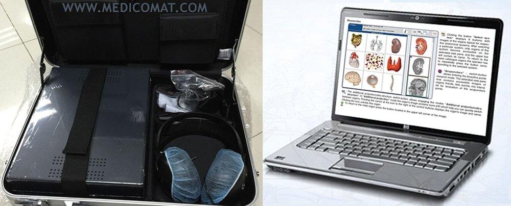 Metapathia GR Hunter Software Informática Medicomat nls-4025 * escaneo y tratamiento Metatron Oberon bio-résonance cuerpo energética: Amazon.es: Electrónica