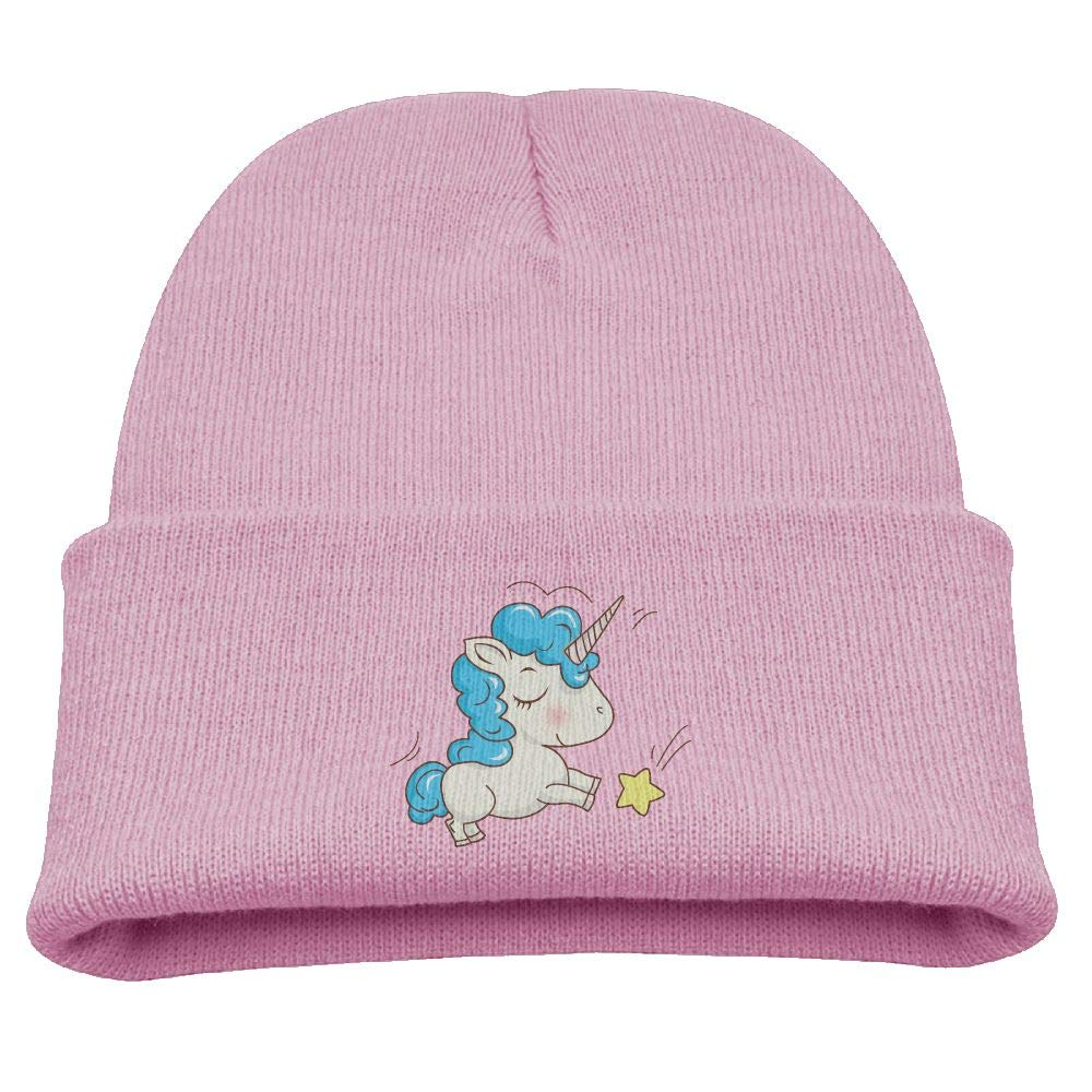Banana King Unicorn Baby Beanie Hat Toddler Winter Warm Knit Woolen Watch  Cap for Kids at Amazon Men s Clothing store  f882917202e