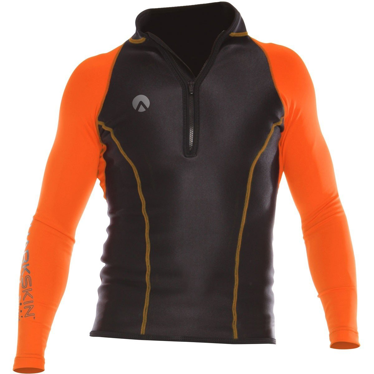スポーツ オレンジ パフォーマンスウェア ラッシュガード Sharkskin スキューバウォーター 長袖シャツ B0797ZB51Y 防寒 メンズ XXXX-Large シュノーケリング ダイビング