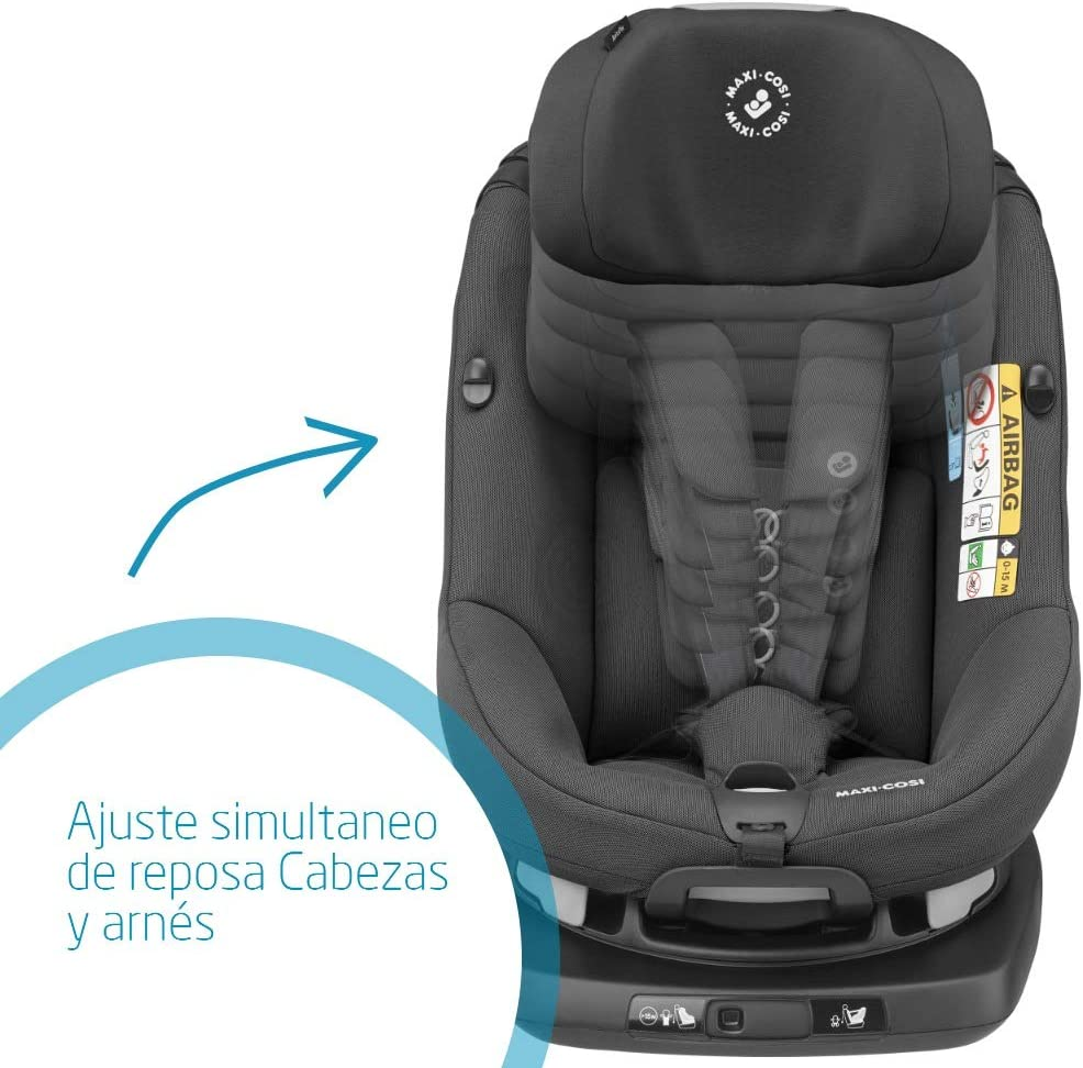 Maxi-Cosi AxissFix Silla de Auto Infantil, Giratoria, 4 Meses - 4 ...