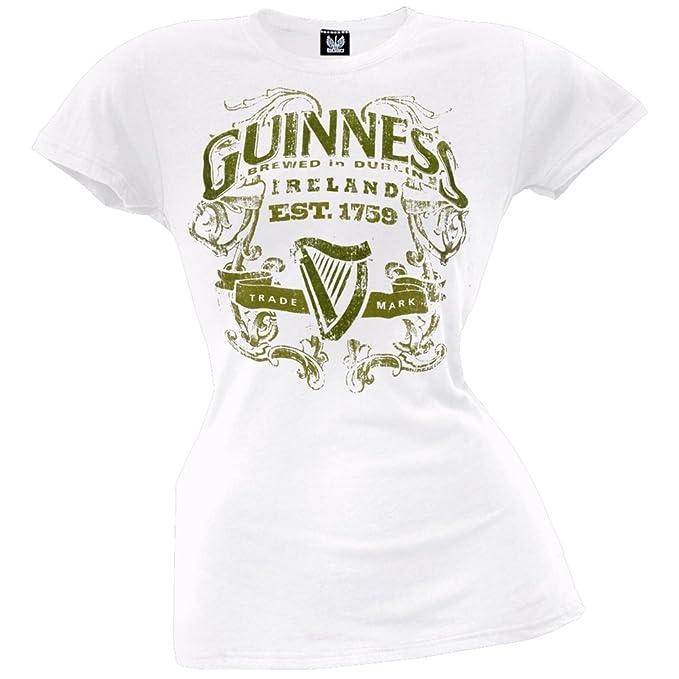 14361b88f Amazon.com  Guinness - Womens Guinness Land Juniors T-shirt Small ...