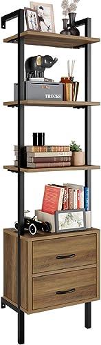 HOMECHO Ladder Bookshelf - the best modern bookcase for the money