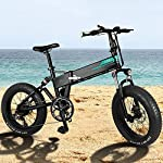 614LEf0hDmL. SS150 Bicicletta elettrica Pieghevole, Motore per Bici elettrica da 350 W, Pneumatici da 14 Pollici per Mountain Bike…