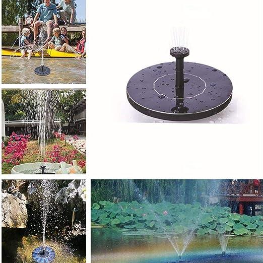 qkdop Fuente De Agua Jardín Estanque De Piscina Fuente Flotante Al ...