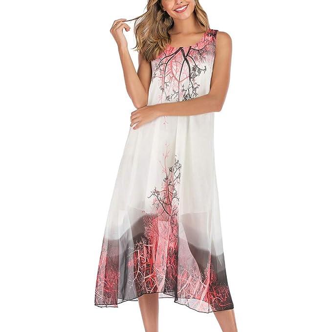 Womens V Neck Maxi Boho Floral Summer Beach Skirt Evening Cocktail Party Dress