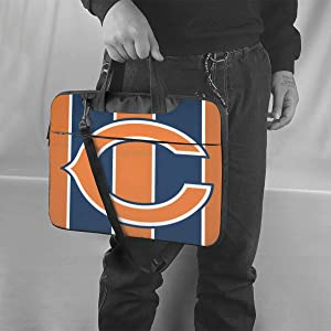 ALHOKLAus Chicago Bears Stylish Customized Laptop Bag, Portable Shoulder Bag, Crossbody Bag and Briefcase (3 Sizes)