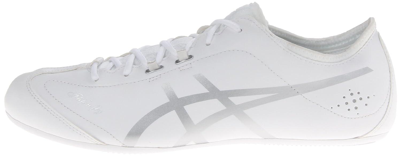 ASICS Women's Flip'n Fly Cheer Shoes WhiteSilver 5.5 B(M