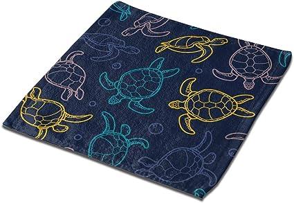 Galaxie Arc-en-Ciel Set 1 Violet tr/ès Absorbant AIZENN Lot de 3 torchons de Cuisine Microfibre Noir Licorne 33 x 33 cm Lavable en Machine