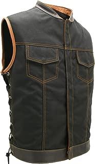 product image for SOA Style Side LACE (Cordura - Military Grade Fabric) Black/Orange