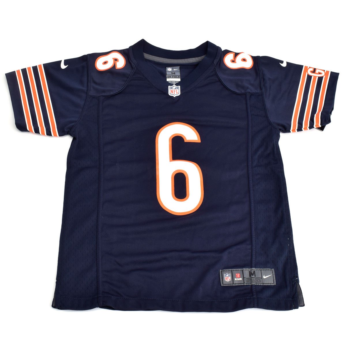 the latest 23796 2e7af Amazon.com: Jay Cutler Chicago Bears Youth Game Jersey (Navy ...